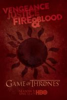 Game of Thrones Season 5 Dorne Poster by Rewind-Me