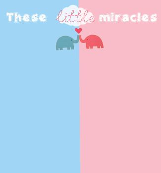 these little miracles bg. by iiBearNot