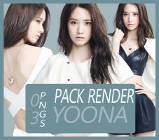 Render Pack 10 - Yoona (SNSD) by Starphine
