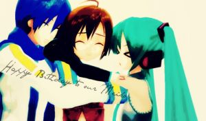.:MMD:. Happy Birthday to our Meiko! by Shichi-4134