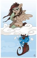 Clouds are for by Key-FeathersMLP