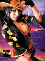 Nico Robin - Film Z by As-Naye