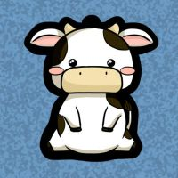 Cow charm design by melissah84