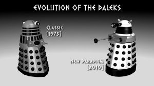 Evolution of the Daleks by DarkFoundation