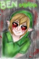 glitched. BEN drowned by NENEBUBBLEELOVER