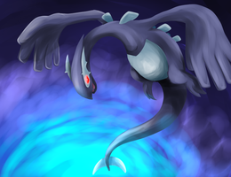 Shadow Lugia by Emmlin
