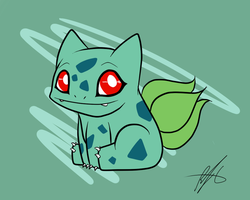 Bulbasaur by Rorell