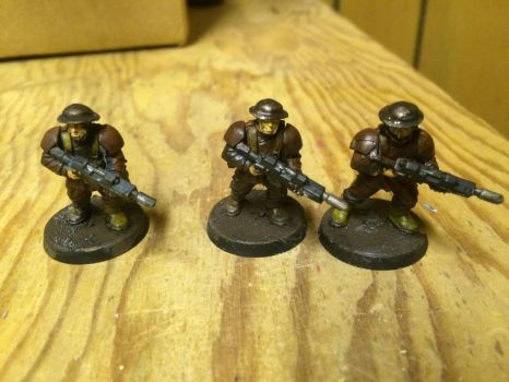 Weyland Trench Fighters by Midnight-Blue766