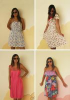 Mixed Dresses by my-name-is-annie