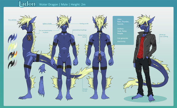 Ladon Ref -commission- by shazy