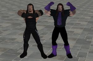 'WWE: All Stars' Undertaker XPS ONLY!!! by lezisell