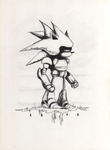 Metal Sonic by Hewison