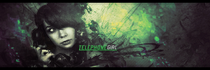 Telephone Girl Signature by eaSe-one