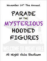 Parade of the Mysterious Hooded Figures by Bwabbit