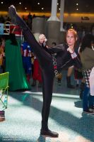 Anime Expo 2014 - kick by Lady-Skywalker