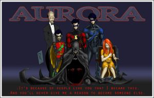 Batman Family - A Tribute To Aurora Victims by darksyderz