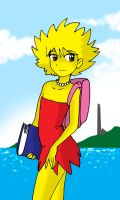 Lisa Simpson Standard by Koku-chan