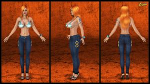 Nami Outfit 2013 by Zzomp