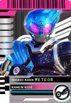 Kamen Rider meteor decade card by mr-ellwood