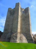 Conisbrough Castle 2 by cannibalmoth