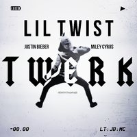 Single|Twerk|Justin Bieber FT Miley Cyrus by Heart-Attack-Png