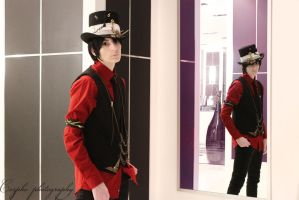 Mad Hatter: The Man in the Mirror is Mad by Requiem-Rain