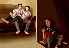 Don't Push it Clark by xiaa