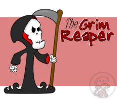 The Grim Reaper by Avelais