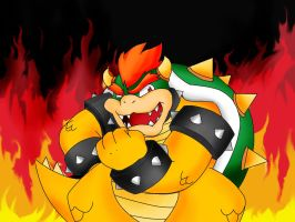 Bowser by POKA-chan