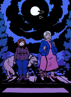 Taking Your Werewolf For A Midnight Stroll by Kiqo7
