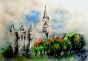 Salisbury Cathedral by Keltu