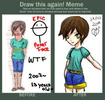 Meme: Before and After by Shiel000