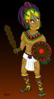 Mixtli (Aztec) by Rapsag
