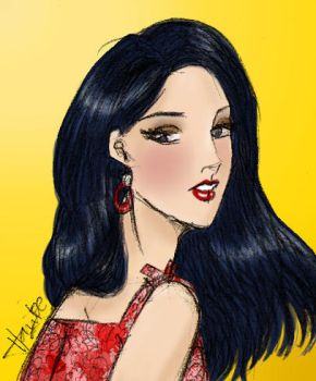 Color-Sketch Veronica Lodge by AyaBlue22