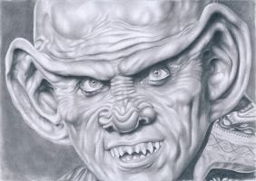 Ferengi Quark by kad-portraits