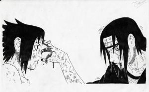 Sasuke e Itachi. (modified) by JesusAgudo