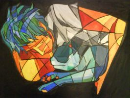 Dom Howard - cubist interpret. by flashgirl93