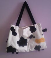 cow bag by earanel