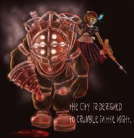 Bioshock_Undying Bond by pandatails
