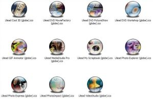 Ulead Apps Icons by jamest