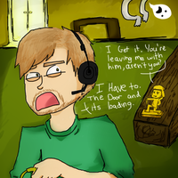 Pewdiepie and Stephano by Tea-is-Cold