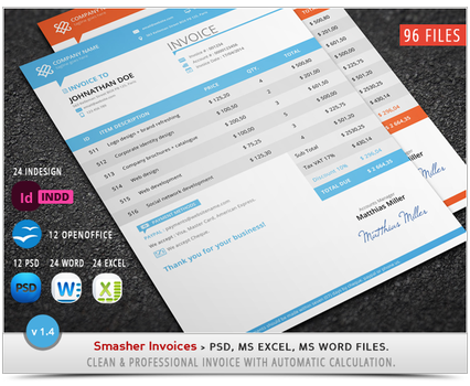 AD - Smasher Invoices - Updated by khaledzz9