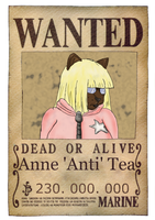 Anti's wanted poster by Chakat-Anti
