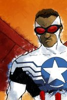 The New Captain America by Daystorm