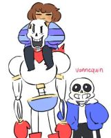 Skeleton Squad by puppetierd