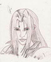 Sephiroth colored by DJesterS