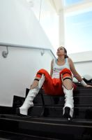 Chell by CrystalPanda