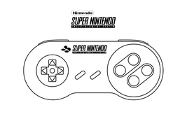 Super Nintendo Controller by oloff3