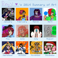 2014 Art Summary by Remy-Productions