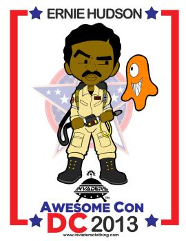 Invaders ghostbusters Ernie Hudson at Awesome Con by cade11